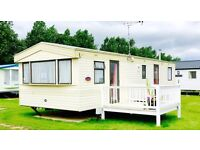 PRIVATE SALE ON A BEAUTIFUL HOLIDAY PARK NEXT TO THE BEACH, INCLUDES DECKING AND SHED!!!