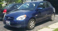 2009 Hyundai Accent Coupe (2 door)