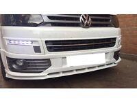 *****Maxton VW Volkswagen Transporter T5 front splitter/bumper extension*****