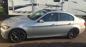 2008 BMW 335i Alberta car with 2 sets of rims