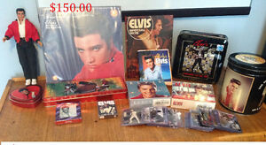 PIÈCES DE COLLECTION D'ELVIS