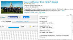 Christmas Concert - Vancouver Chamber Choir: Handel's Messiah Downtown-West End Greater Vancouver Area image 2