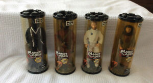 """Planet of the Apes"" -13 inch figures (Hasbro - 1999) ~ set of 4"