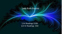 Lady Ruth Psychic Readings
