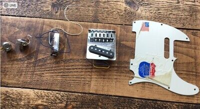 Fender Telecaster Highway One - Pickups / Pickguard / Tailpiece
