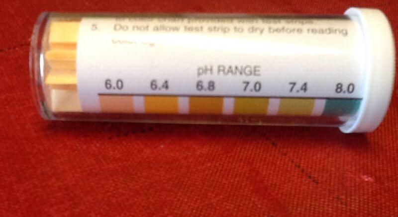 *2 bottles Precision pH Test Strips 100 Strips Per Bottle Pool Urine exp 10/3/19