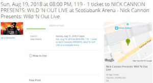 NICK CANNON PRESENTS: WILD N OUT LIVE at Scotiabank Arena
