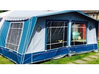 Isabella Crown full awning plus sun canopy and accessories