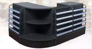 Cashier Desk-Showcase combo unit-checkout counter-display case