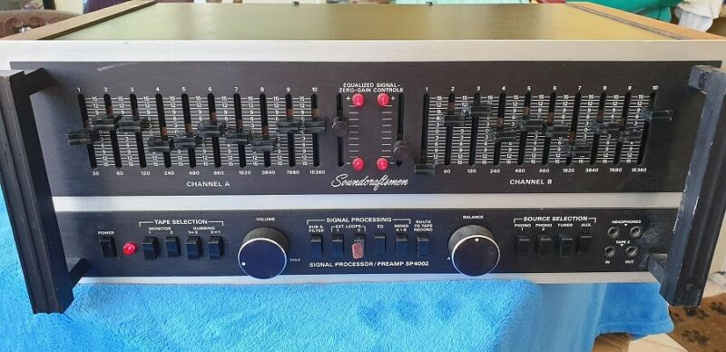 SOUNDCRAFTSMEN SP4002 PREAMP-EQUALIZER