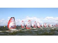 Windsurf Racing Rig, mint condition: 9.7-m Sail (Severne Overdrive 2011) + matching Mast, Boom, Bags