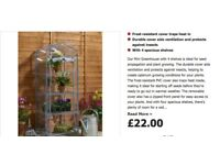 4 Shelf mini greenhouse new- still in box