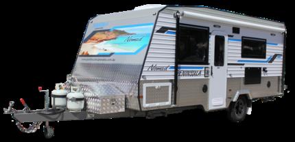 2017 Peninsula NOMAD Semi Offroad Caravan