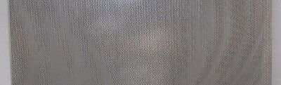 116 Hole On 332 Centers-20 Gauge- 304 Stainless Perforated-- 12 X 15