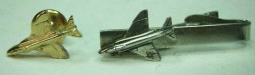 F-4 Phantom Aircraft Tie Tack and Tie Bar - McDonnell Douglas