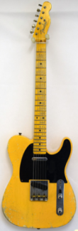 Fender 52 Telecaster Heavy Relic Nocaster Custom Shop
