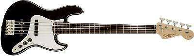 Fender Squier Affinity Series 5 String Electric Jazz Bass V Guitar in Black