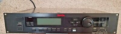 Ramsa Digital Multi Equalizer Signal Processor w/Midi, Audio Recording Broadcast