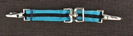 Roma blue and black lunging attachment (for bridle)
