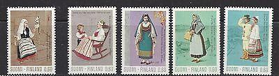 FINLAND #533-539  MH  - 1973