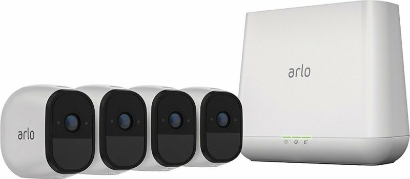 Arlo VMS4430P-100NAR Pro2 1080p 4Cam Security System w/2-Way Audio - Refurbished