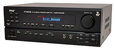 BLUETOOTH PYLE 5.1CH HOME THEATER SURROUND SOUND RECEIVER AMPLIFIER HDMI NEW