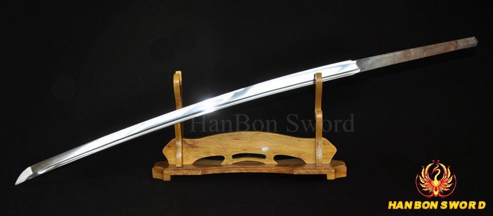 1060 High Carbon Steel Blade Full Tang For Japanese Samurai Katana Sword Sharp