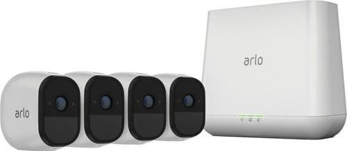 Arlo Pro Indoor /Outdoor 4 HD Wire Free Cameras w/ base and 2 way Audio