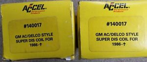 2 - Accel 140017 - 1986-08  Super DIS Coils- NEVER USED $40.00