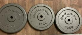 Weight plates cast iron