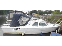 19ft Boat Cabin Motor Cruiser