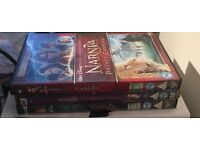 All 3 narnia dvds