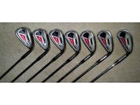 Adams Game Improvement Tight Lies 1208 4-W Iron Set- Steel uniflex