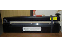 IMPULSE SEALER. Boxed. Good condition with free PACKER hot air gun & 3/4 roll PVC heat shrink wrap.