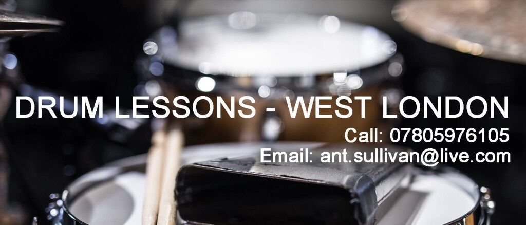 Drum Lessons - Acton, West London/Surrey/Middlesex | All ages and abilities welcome!