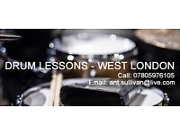 Drum Lessons - West London | All ages and abilities welcome!