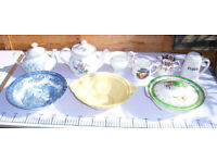 odd bits of pottery job lot £15
