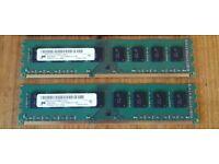 Micron 8GB DDR3 RAM (2 x 4GB) 1333MHz - tested, works perfectly