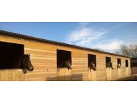 Wooden Stables for Sale