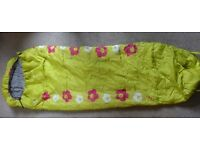 Kids Trespass girls 1-2 season sleeping bag