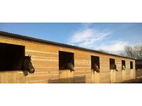 6 Wooden Stables for Sale