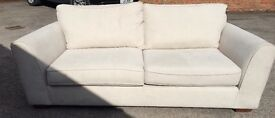 Lovely 3 seater sofa in 'stone'