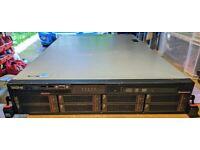 Lenovo Rack Server - RD630 ThinkServer - 12 Core 2 x Xeon 2.30GHz 80GB RAM 8 x 600GB 15K SAS
