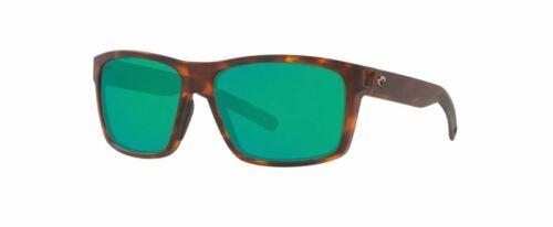 NEW Costa Del Mar Slack Tide Matte Tortoise Frame w/ Green Lens SLT191OGMP