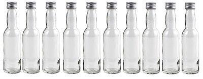 20 ml / 40 ml leere Mini Glasflaschen Schnaps Flasche kleine Miniaturflaschen