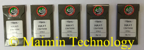 50 ORGAN HOME EMBROIDERY MACHINE NEEDLES 75/11 SHARP
