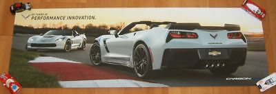 2018 Chevy Corvette Carbon 65 SEMA Show Promo Poster