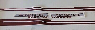 kit autocollants stickers motobecane mobyx