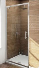 700mm Brand New pivot hinge shower door