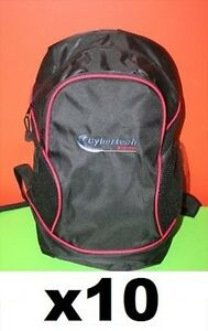 CYBERTECH BLACK Backpacks 16x14x7 promos - Brand New in plastic